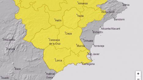 La Región, en alerta amarilla por lluvias este sábado