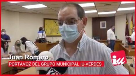 VÍD. IU Verdes afirma que PSOE 'hipoteca' al Ayuntamiento 10 años