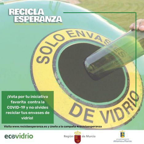 Arrancan las votaciones a los proyectos Recicla Esperanza
