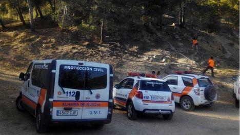 Protección Civil apoya a los agentes forestales contra el fuego