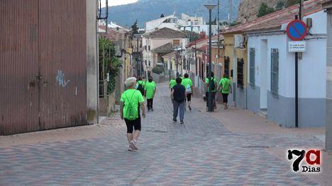VÍD. La zona del Castillo y el Praíco, la 2º Ruta Saludable de la AECC