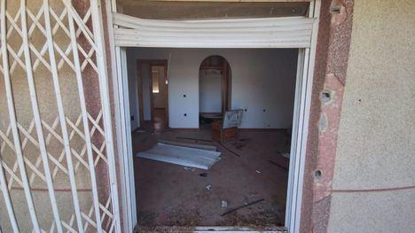 FOT. Pillados in fraganti en el robo de una vivienda en Alhama