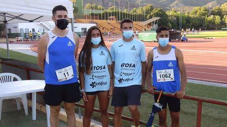 FOT. Sobresaliente fin de semana para el Club Atletismo Alhama