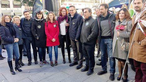 Conesa se desplaza a Madrid en apoyo a los regantes