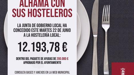 El Ayuntamiento concede otros 12.000 euros a seis hosteleros