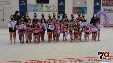 VÍD/FOT Espectacular exhibición de las chicas del Club Areté