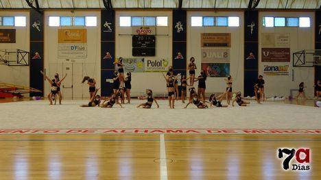 V/F Gran exhibición de las gimnastas del Club Atenea