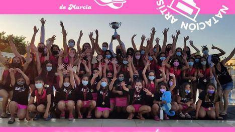 El Club Sincro Alhama revalida su título de Campeonas Regionales