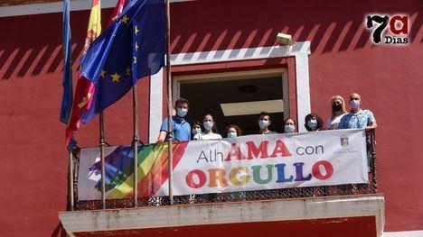 VÍD. Alhama rechaza en el Día del Orgullo el aumento de la LGTBfobia