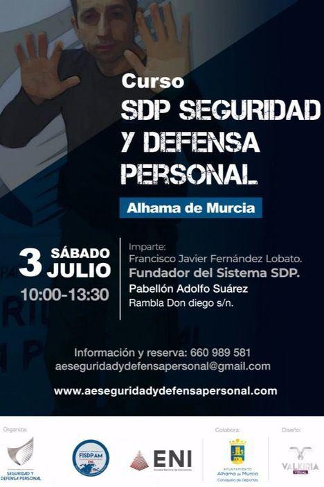 Curso de Defensa Personal gratis este sábado en Alhama