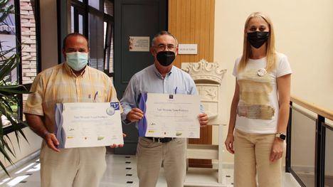 FOT. Ricardo Torel recibe sus acreditaciones Sicted