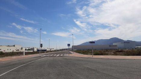 FOT. Abierto al tráfico los nuevos viales en el Parque Industrial