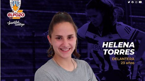 La delantera Helena Torres regresa al Alhama CF ElPozo