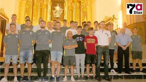 VIDEO El EF Alhama realiza su tradicional ofrenda a la Patrona