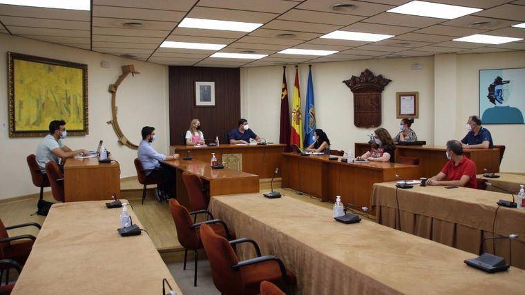 Breve Junta de Gobierno Local con dos puntos aprobados