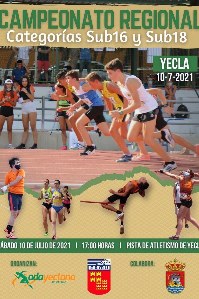 Yecla, penúltima cita para los atletas del Club Atletismo Alhama