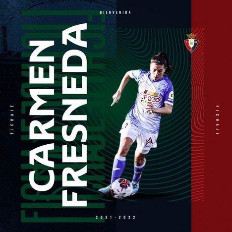 La azulona Carmen Fresneda ficha por el Atlético Osasuna