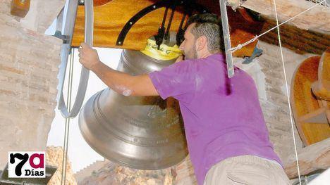 FOTO/VIDEO La nueva campana se estrenará el día de la Patrona