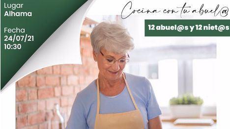 El Mercado de Alhama acogerá el evento 'Cocina con tu abuelo'