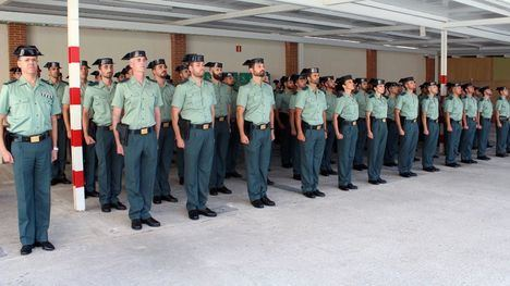 FOTOS La Guardia Civil de Alhama se refuerza con 5 nuevos agentes