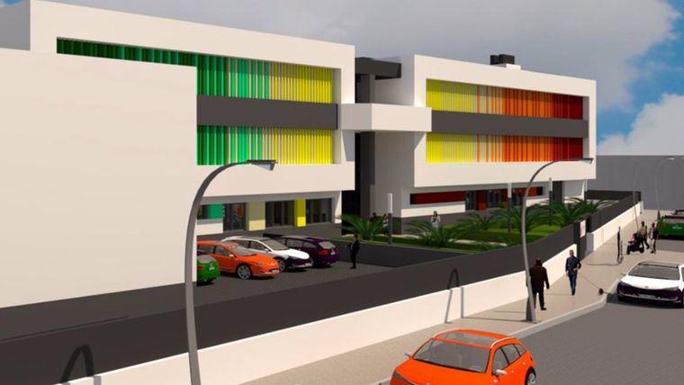 Imagen del proyecto del nuevo colegio en Librilla.