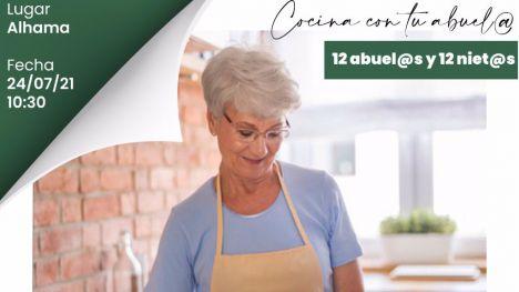 Últimas plazas para la actividad 'Cocina con tus abuelos' este sábado