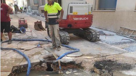 Corte de agua por una avería en Florencio Javaloy