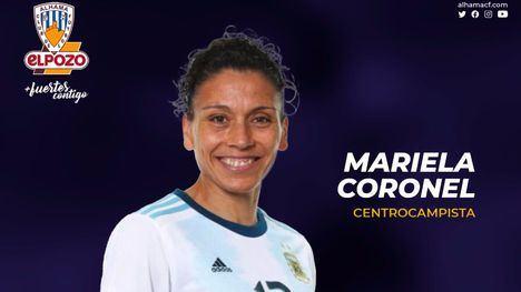 VÍDEO El Alhama CF ficha a la argentina Mariela Coronel