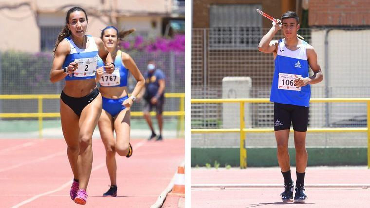 Fin de temporada para Lucía Morales y Achraf Hassouni
