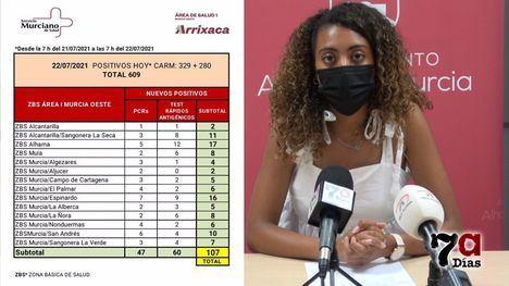 VÍD. Sánchez y Salud no contemplan medidas en Alhama por ahora