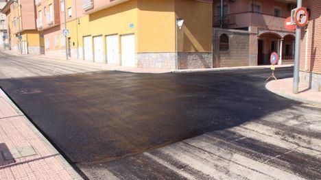 V/F Finaliza el asfaltado de la calle Carmen López