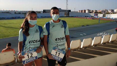 FOT. Notable papel de Lucía Morales y Achraf Hassouni en Huelva