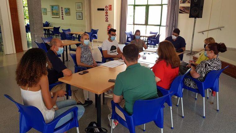 El pasado martes la sesión de la Junta de Gobierno Local ya se trasladó al Centro de La Cubana a causa de las obras en la Casa Consistorial.