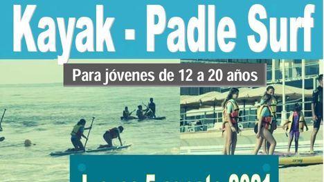 Kayak y padle surf en Mazarrón el jueves 5 de agosto
