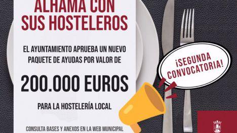 Novedades en las ayudas Covid19 a los hosteleros de Alhama