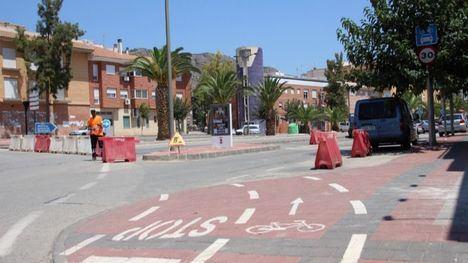 Corte parcial en Ginés Campos por las obras en la avenida Cartagena