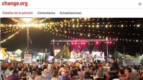 El PP de Alhama recoge firmas contra el traslado de la Feria