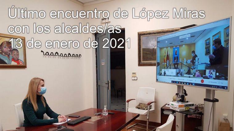 Guevara reclama a L. Miras que se reúna con los 45 alcaldes