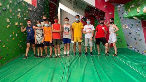 FOTOS Diversión en el taller de escalada para jóvenes