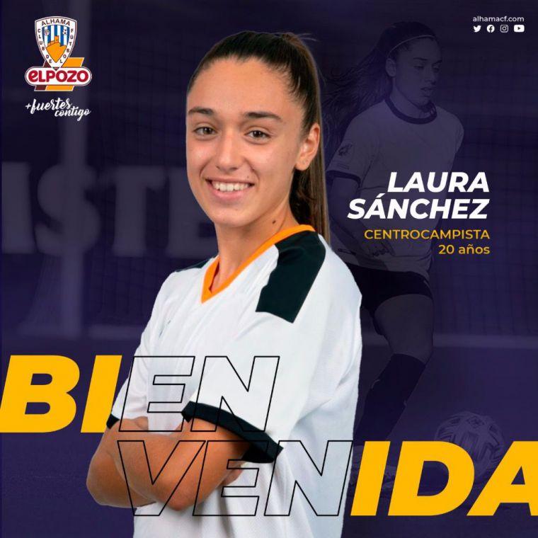 El Alhama CF ElPozo anuncia el fichaje de Laura Sánchez