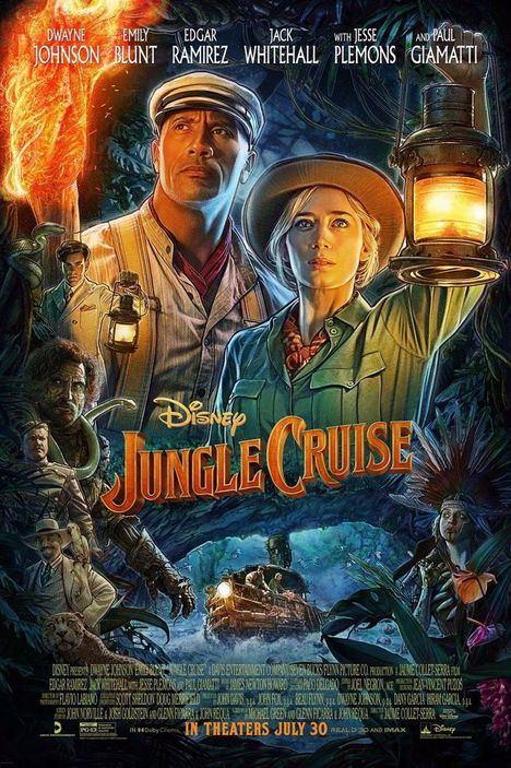 Este martes y mañana Jungle Cruise en el cine de verano