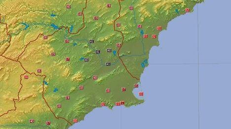Los termómetros marcan casi 40ºC en Alhama este viernes