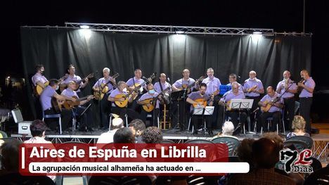 VÍD. Aires de Espuña, protagonista de la noche en Librilla