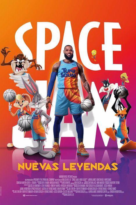 Esta semana la nueva de Space Jam en el cine de verano