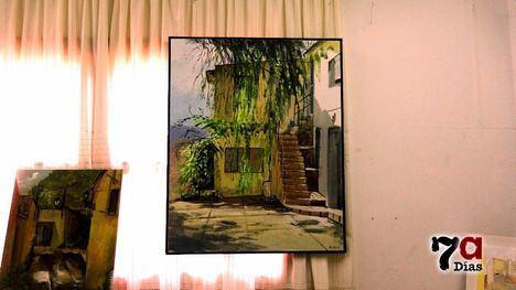 FOTOS Paco Rojas gana el concurso de pintura rápida de Gebas