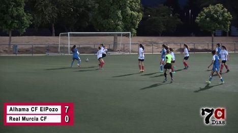 VÍD. El Alhama CF ElPozo vence al Real Murcia (7-0)