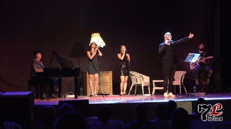 VÍD. Librilla arropa a 'Sergio Dalma' en concierto en el auditorio