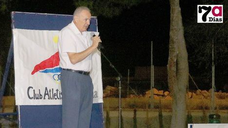 40 Años Club Atletismo Alfonso Cerón fundador e historia viva del Club