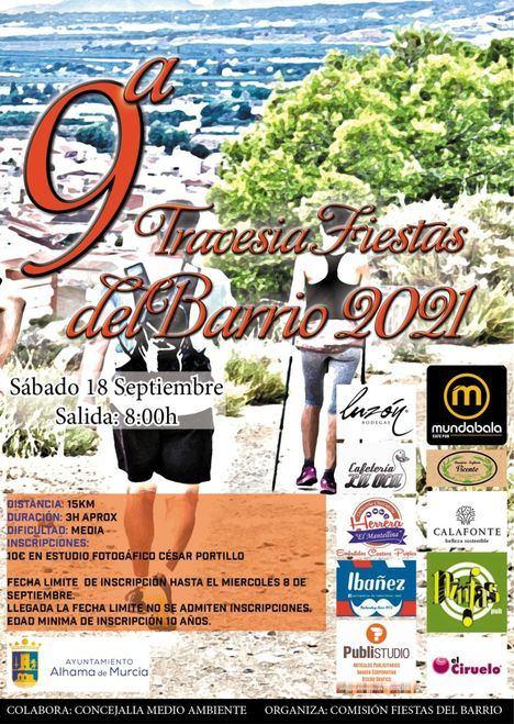 La Comisión de Fiestas del Barrio organiza la 9ª Travesía