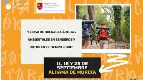 Juventud organiza un curso de buenas prácticas en senderos